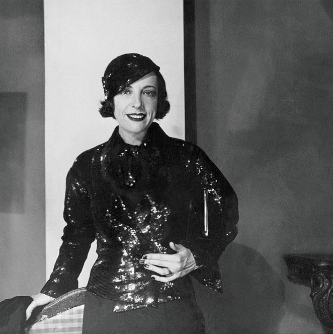 Ana de Pombo vestida de Chanel 1933. GEORGE HOYNINGEN-HUENE CONDÉ NAST ARCHIVE