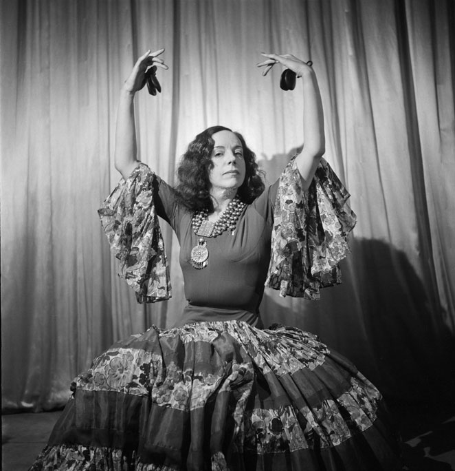 Ana de Pombo. Como bailarina se dio a conocer con el nombre de Ana de España 1939