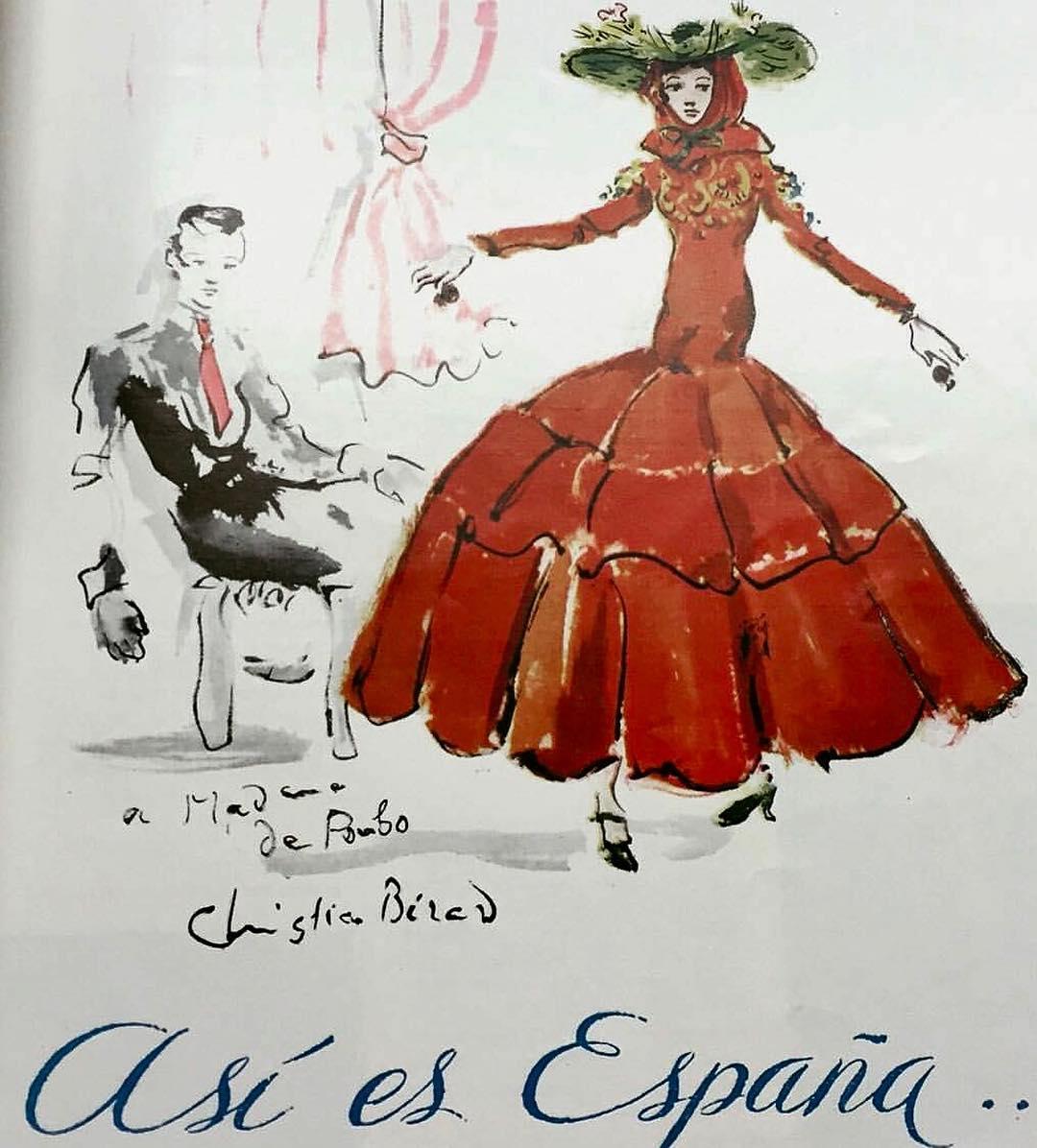 lola.gavarron ilustración Bérard a Ana de Pombo en Paris, 1937 Así es España
